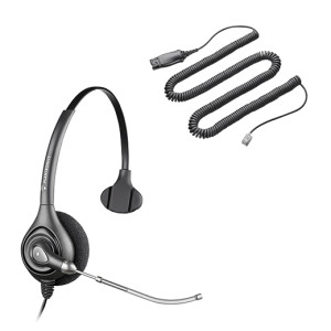Kit Supra Plus HW251 Cable HIS Plantronics