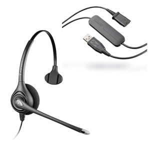 Kit Supra Plus HW251 DA40 Plantronics